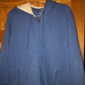 Women's LL Bean Fleece Lined Coat/Jacket Size 2X